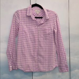 Pink white shirt